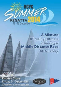 RCYC Summer Regatta 13-16 Dec
