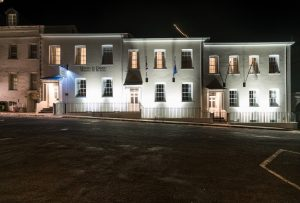 Mantis St Helena - Hotel exterior by night