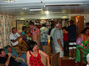 Shipboard party