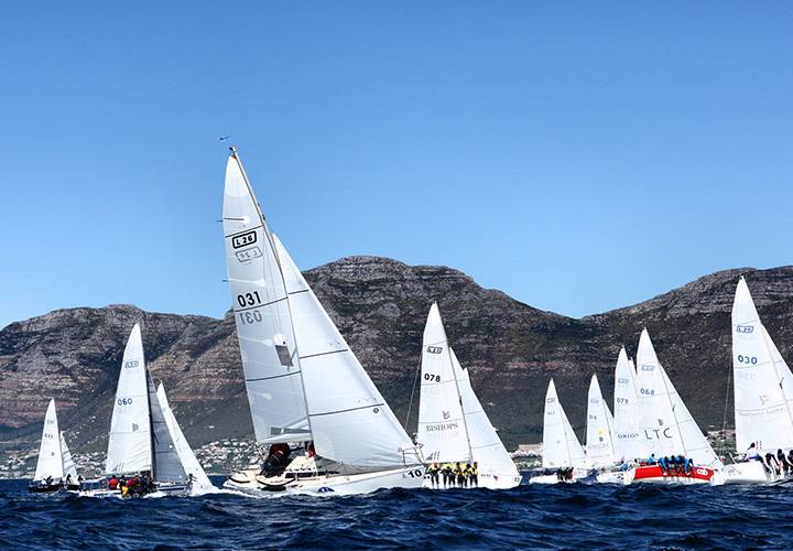 RCYC At Lipton 2014 Challenge In SimonsTown