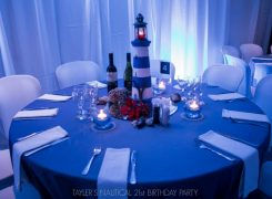 Nautical Theme Table