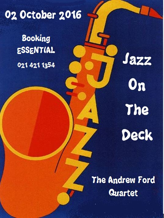 Jazz On The Deck October 2016