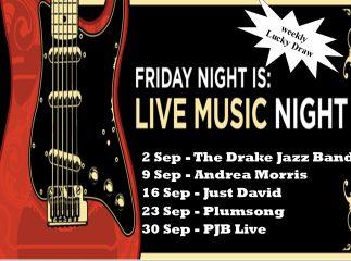 Friday Night Entertainment – September 2016