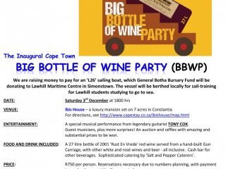 Big Bottle Of Wine Party Fundraiser