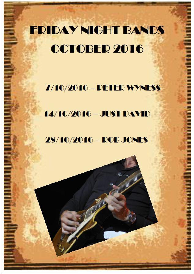 October Bands