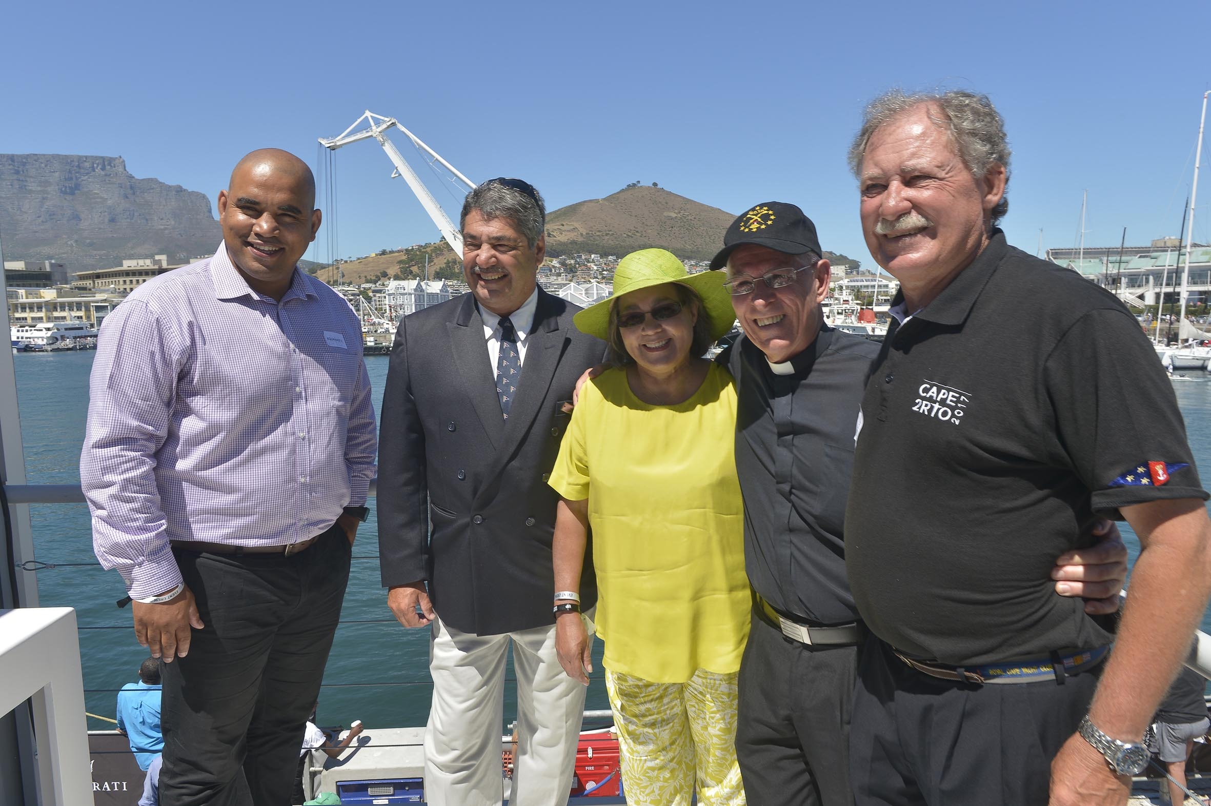 More Photos Of Cape2Rio Start On 1st January (courtesy Of Bruce Sutherland, City Of Cape Town).