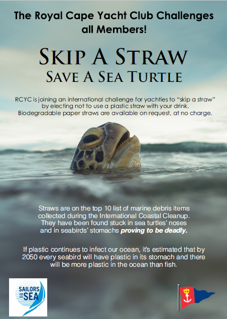 The RCYC Initiative #SkipaStraw