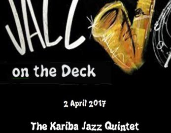 Jazz On The Deck – Sunday 02 April 2017