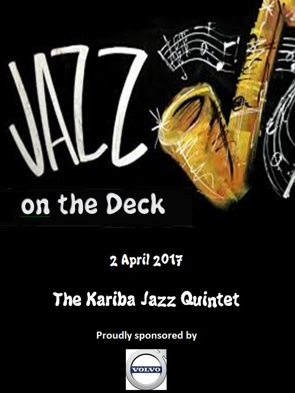 Jazz On The Deck – April 2017