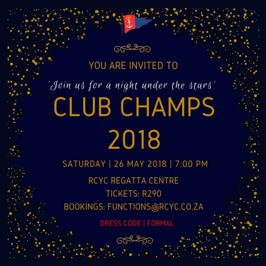 Club Champs Prize Giving