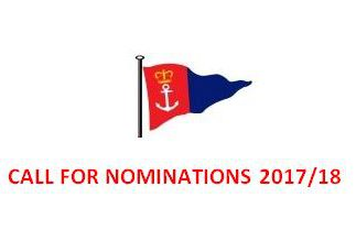 CALL FOR NOMINATIONS 2017/18