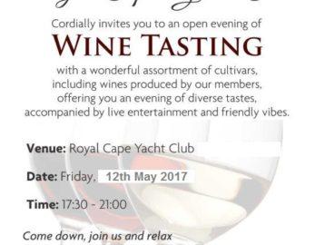 Wine Tasting – 12 May 2017