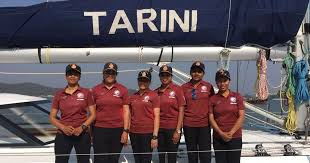 Indian Navy SV Tarini All Women Crew