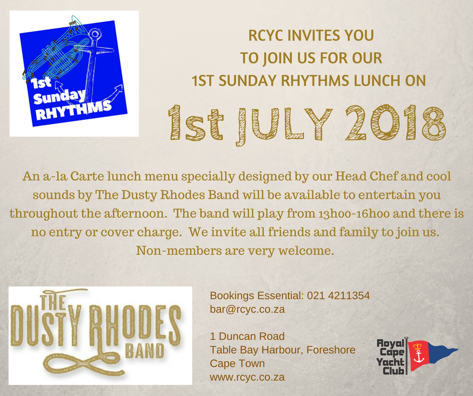 1st Sunday Rhythms July