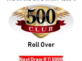 Lucky Draw – 8 June 2018