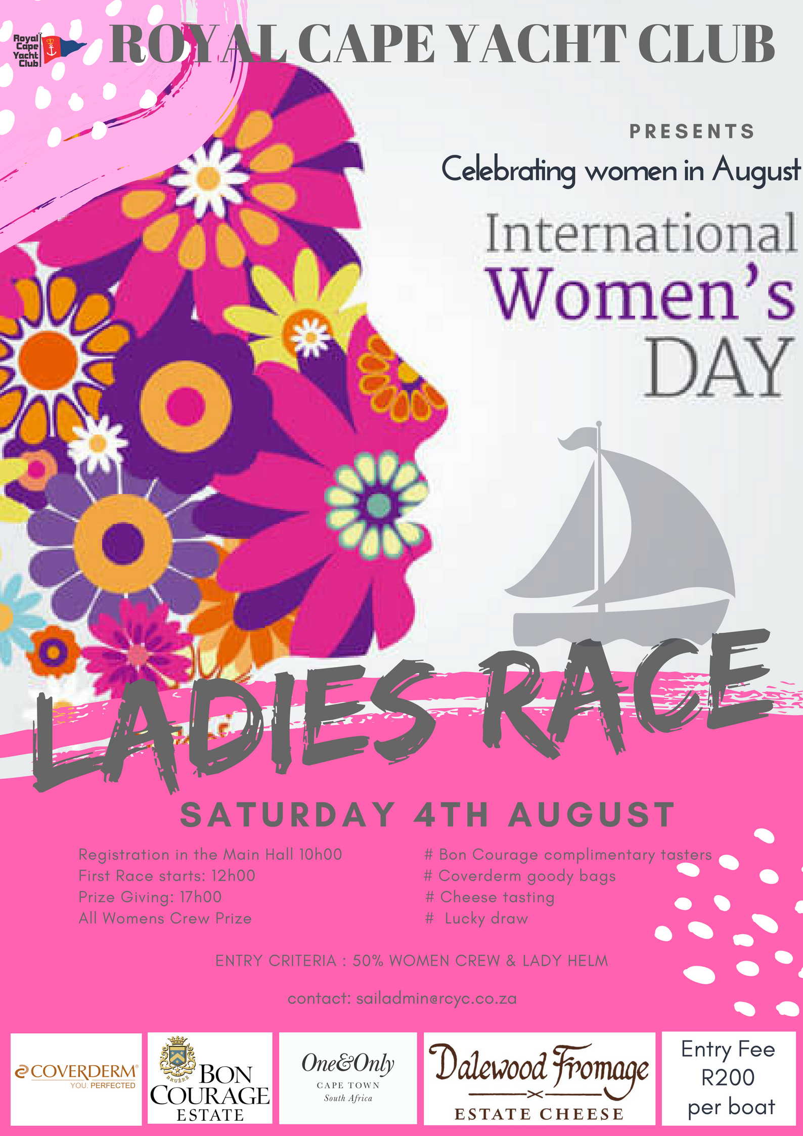 Ladies Race 4th August 2018