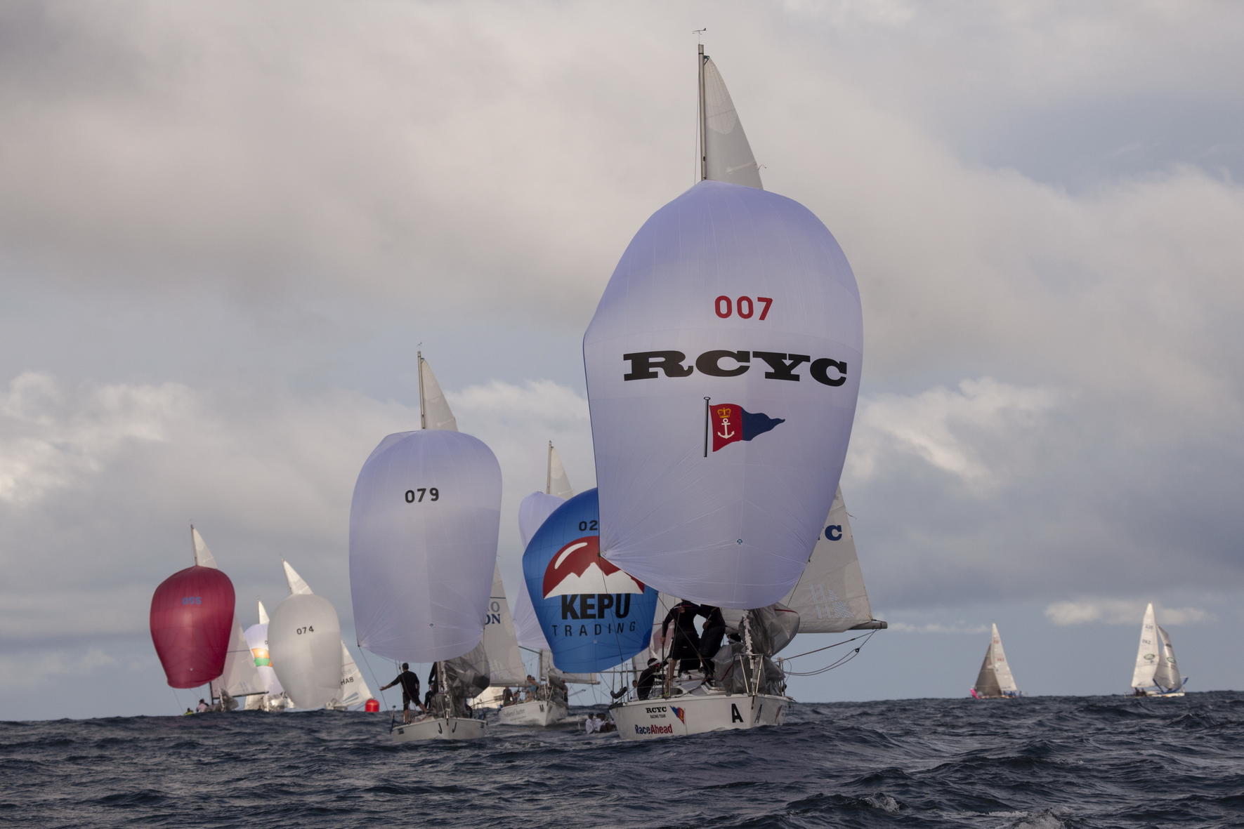 RCYC Wins Race 2 Of Lipton Challenge Cup