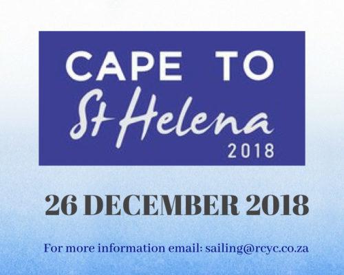 Cape To St Helena 2018