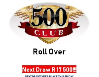 Lucky Draw – Friday 31 August 2018