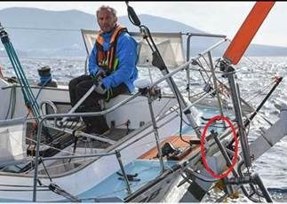 Golden Globe Race – Philippe Péché Heading For Cape Town