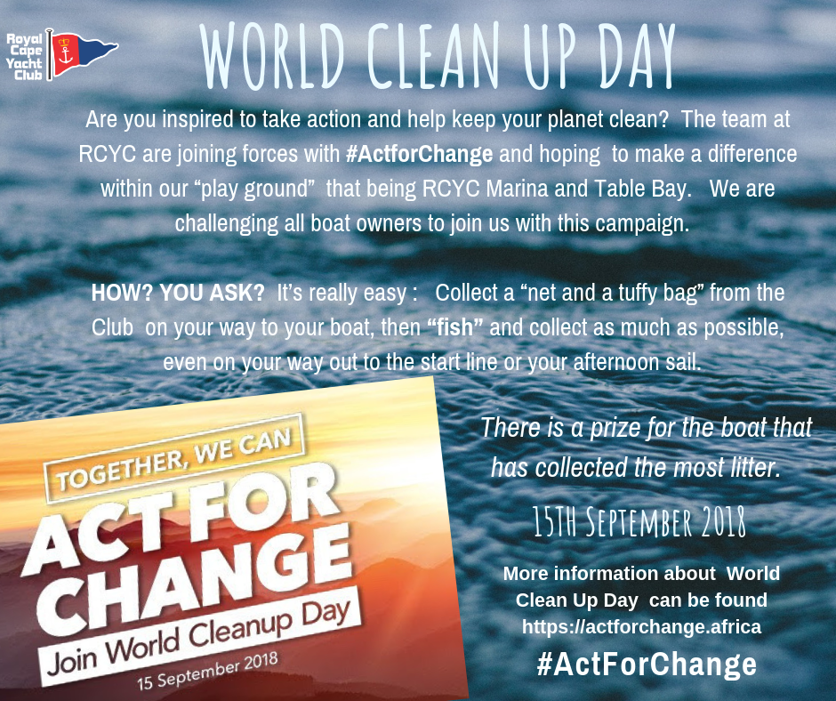 World Clean Up Day  #ActforChange