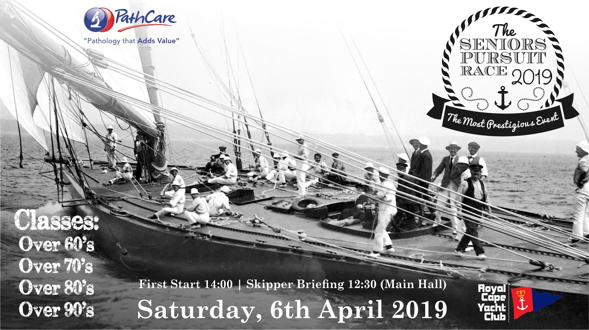 PathCare Seniors Pursuit Race 06th April 2019