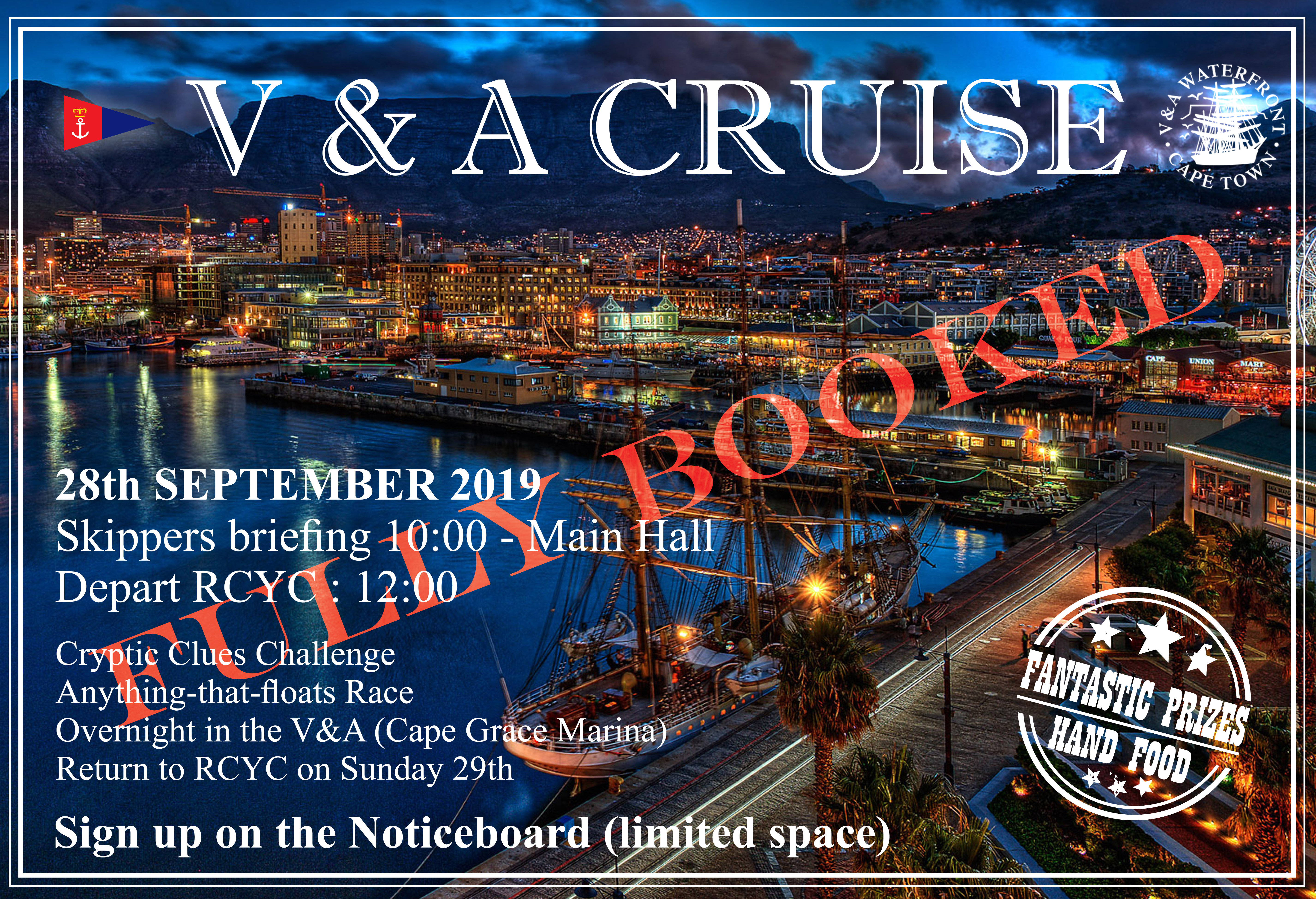 V&A Cruise  – Calling All Cruisers