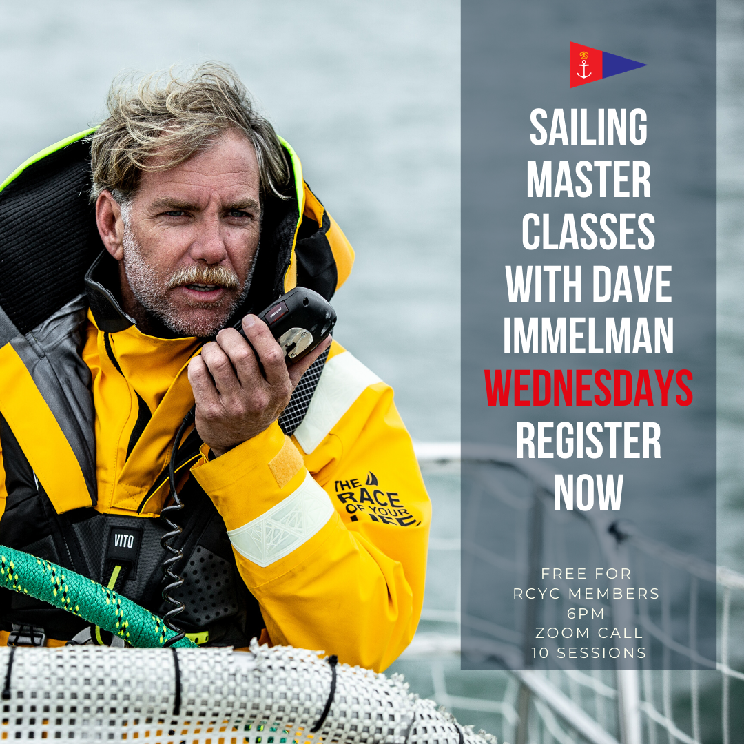 SAILING MASTER CLASSES WITH DAVID IMMELMAN